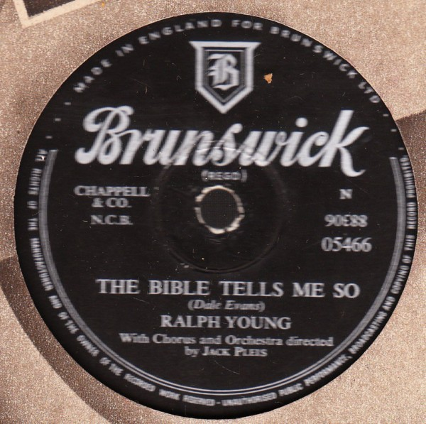 Ralph Young - The Man from Laramine - Brunswick 05466
